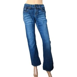 BKE Culture Stretch Denim Mid Rise Mid Wash Jeans